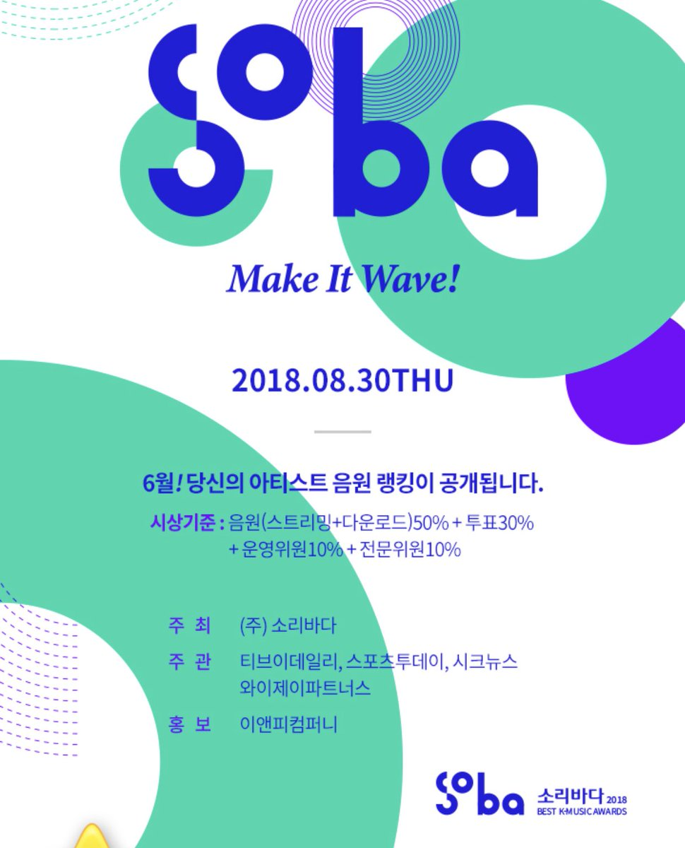 2018 Soribada Best K-Music Awards