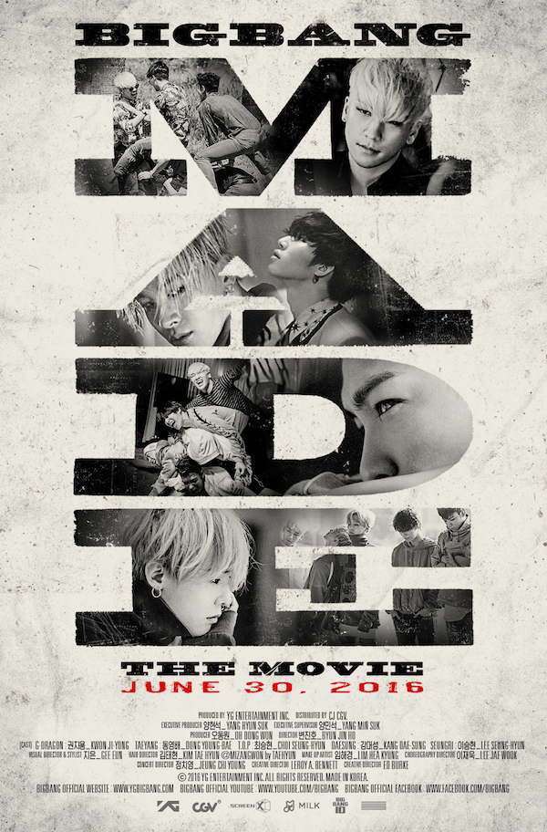 BIGBANG MADE: The Movie